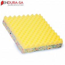 """Endura Convoluted Foam Wheelchair Cushion 18""""-46cm"""