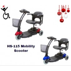 HS-115 3 Wheel Mobility Scooter